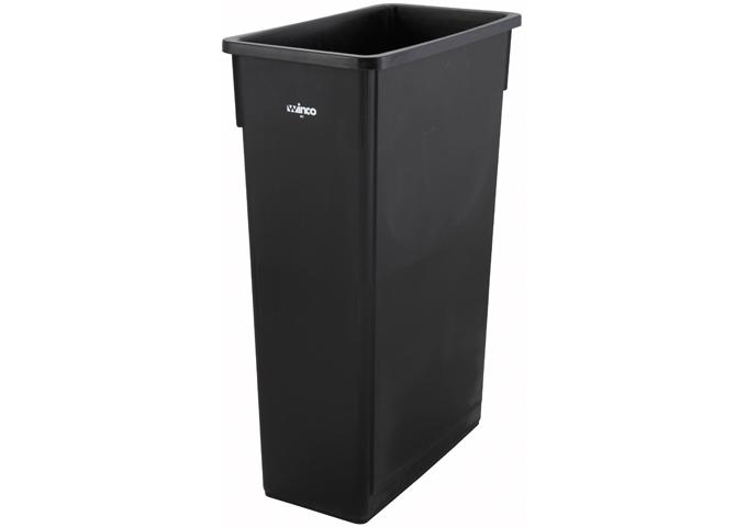23 Gallon Slender Trash Can, PTC-23K, Winco