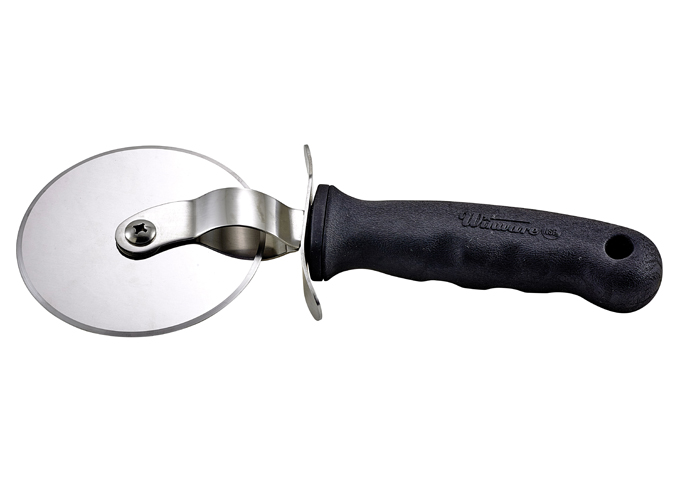 Large Pizza Cutter, Soft Grip Handle, VP-316, Winco