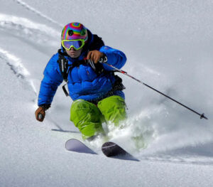 skiing the Roaring Fork Valley of Western Colorado from Aspen to Glenwood Springs