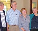 Clare McKeagney, Heidi Blake, Terry Rhoads, Patricia Largey, Jo Radner, Lee Ann Shand