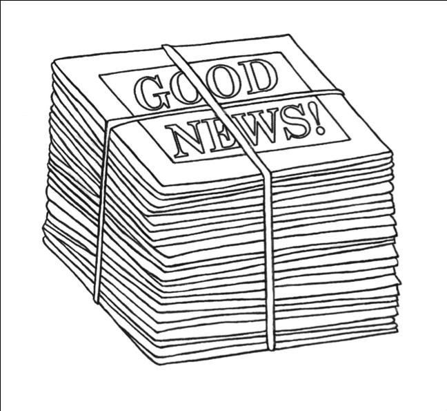 Good News Newspaper Stack