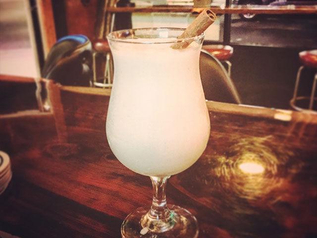 slushy drink the Wrigley tavern