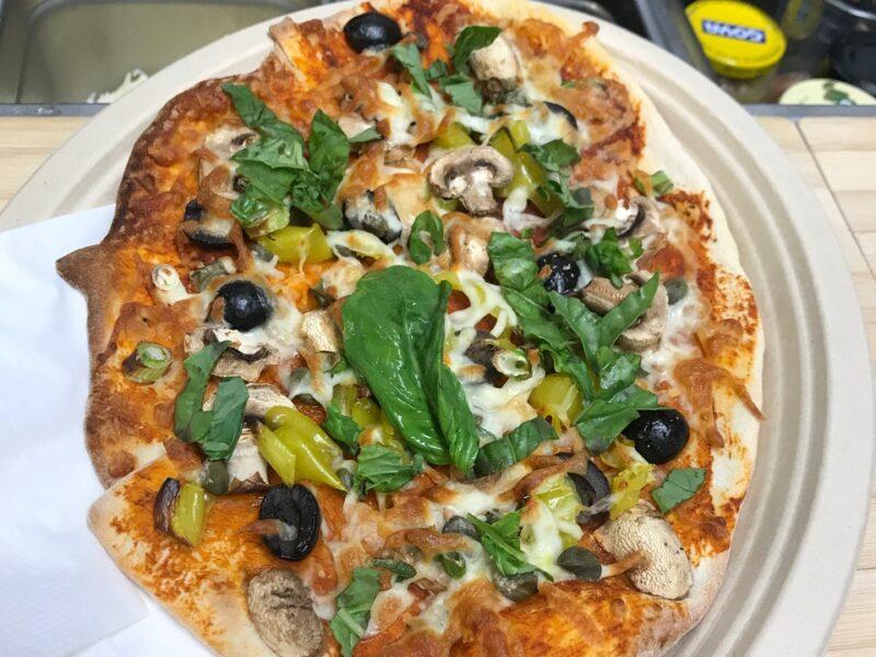 The zaferia pizza menu item
