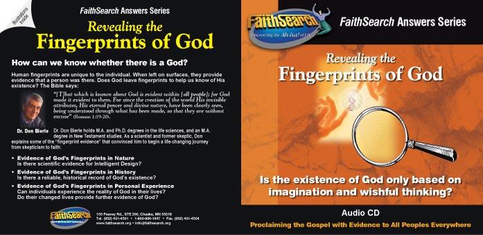 Revealing the Fingerprints of God audio