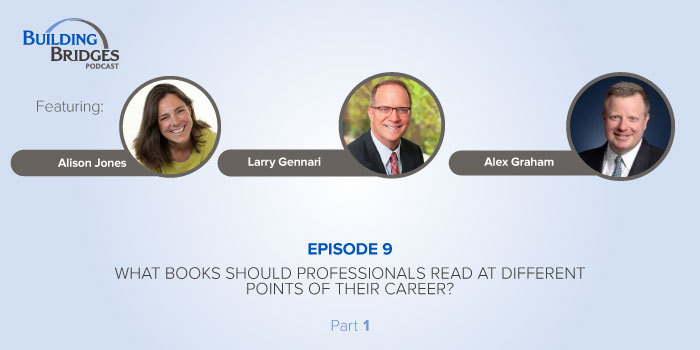 Ep 9 – What Books Should Professionals Read at Different Points of Their Career? Pt 1
