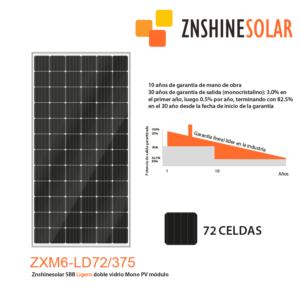 Paneles Solares ZHSHINE SOLAR