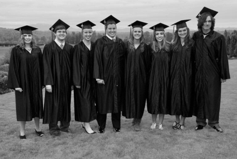 2010 Attic graduations