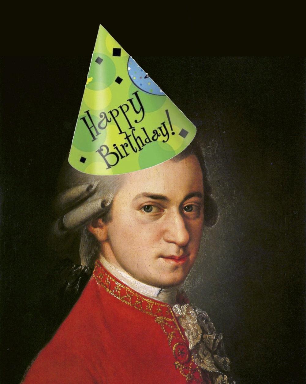 Happy Birthday, Mozart!
