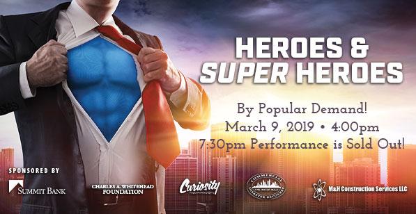 Panama City Pops: Heroes & Superheroes