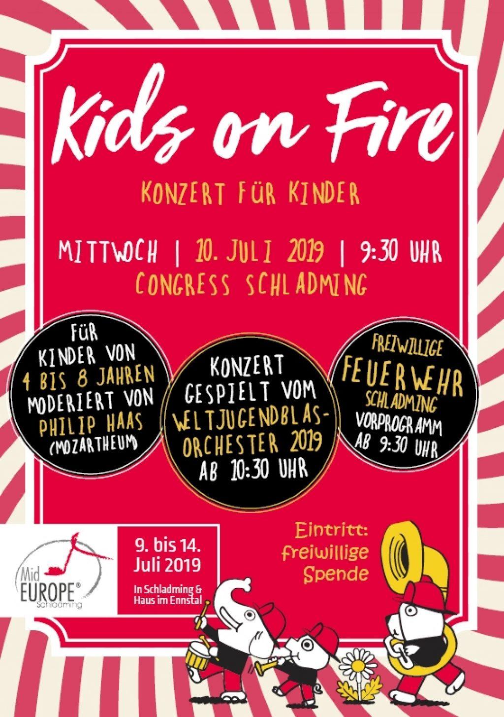 KIDS ON FIRE