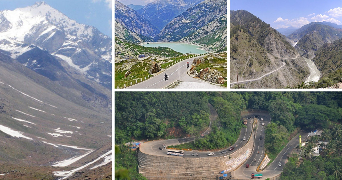 Mountain Passes in India