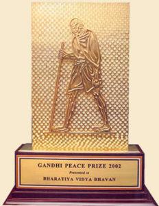 Gandhi Peace Prize