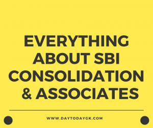 SBI consolidations & associates