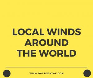 Local Winds Around The World