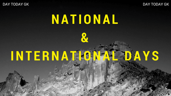 National and International Days