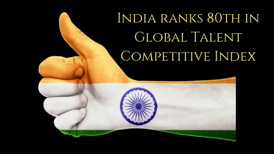Global Talent Competitive Index