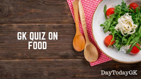 GK Quiz on Food