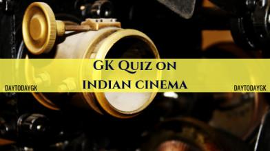 GK Quiz on Indian Cinema