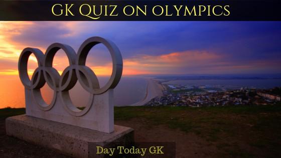 GK Quiz on Olympics
