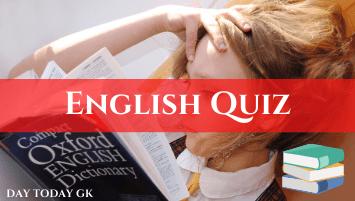 English QUIZ(1)