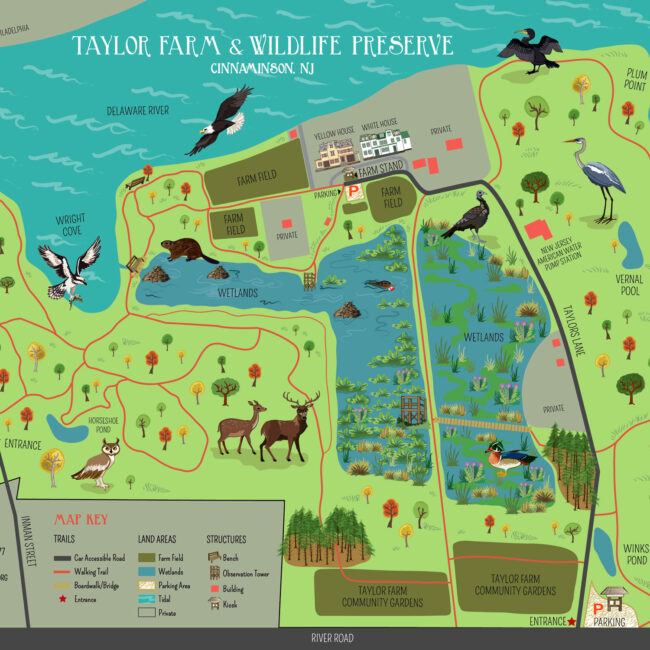 Taylors Farm Map