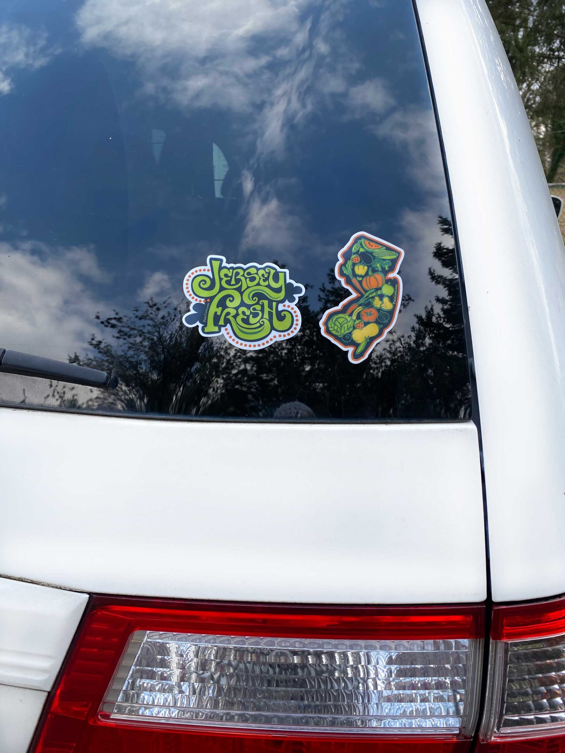 Jersey Fresh – Garden State Stickers