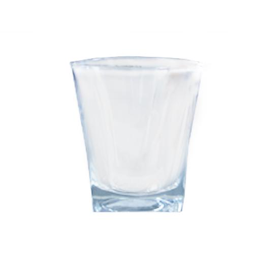 Square Juice Glass Jewel 180ml