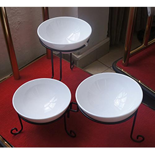 Buffet Stand 3 Bowls