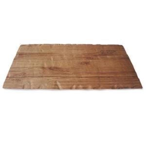 "Teakwood Platter 20x10"""