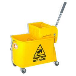 Single Cleaning Mop Trolley