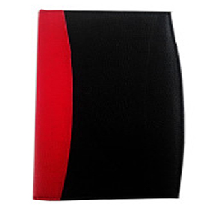 Menu Folder Red Black