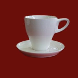 Ceramic Big Cup & Saucer