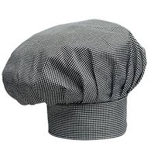 Checked Chef Cap
