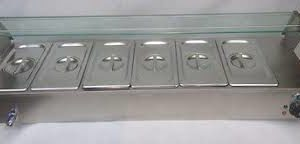 Bain Marie 6 Compartment