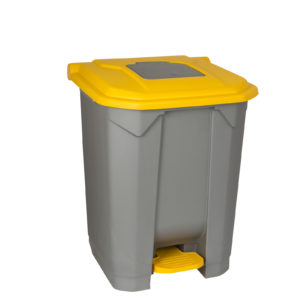 Grey Dustbin