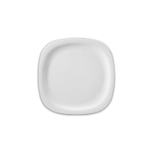 Square Round Dinner Plate