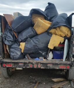 Full Trailer Load $280.00 - Chuck It! Junk Removal - Hauling Services Winnipeg