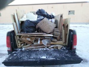 Full Pick Up Load Truck $10500 - Chuck It! Junk Removal - Junk Removal Winnipeg