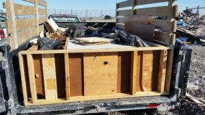 Half Dump Trailer $140.00 - Chuck It! Junk Removal - Hauling Services Winnipeg