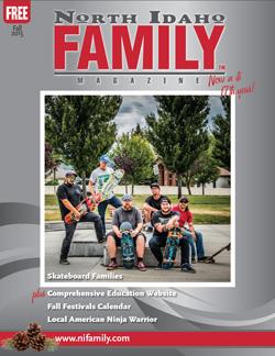 north idaho family magazine Spring issue
