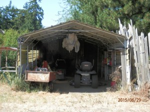 Mower Shed