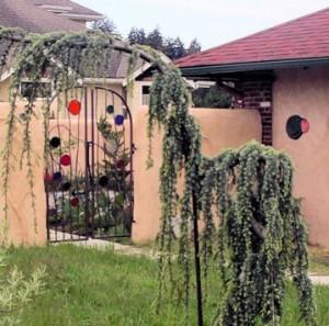 Common House patio gate