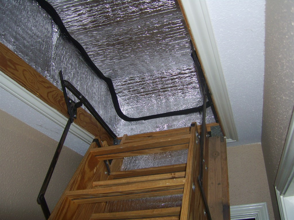 Attic Tent Stairway Cover