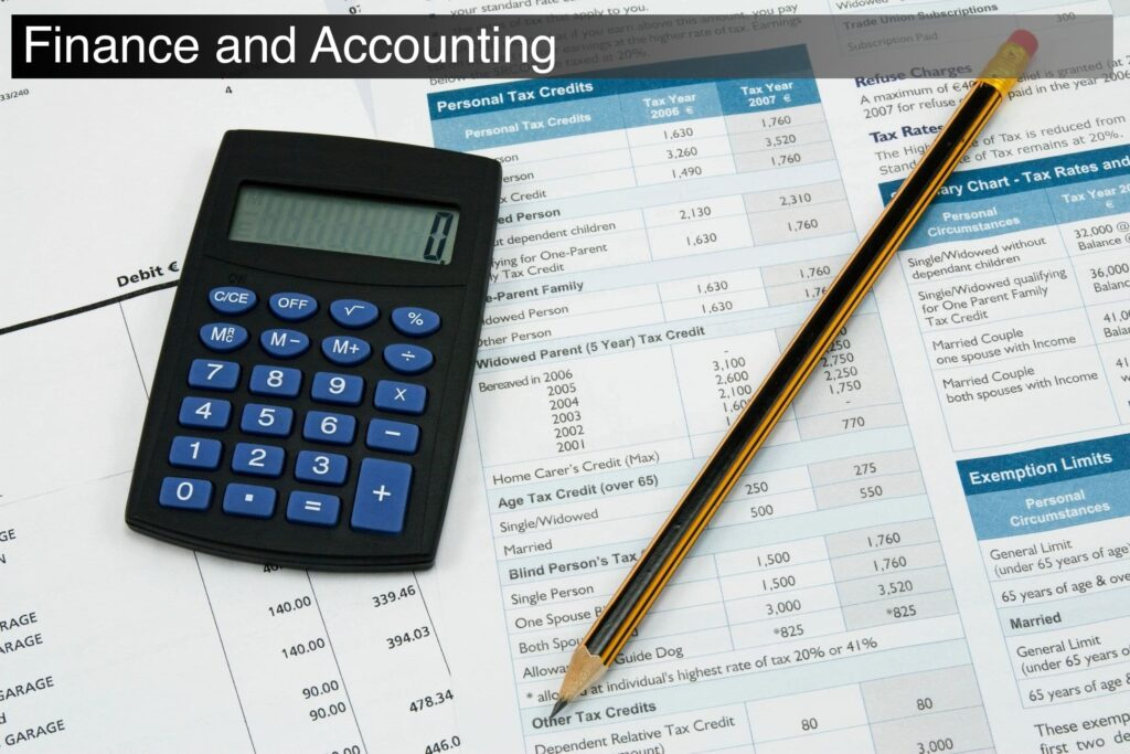 finance and accounting