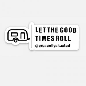 P.S. Trailer Sticker
