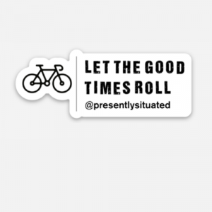 P.S. Bicycle Sticker