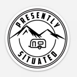 P.S. Logo Sticker