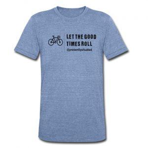 good times bike Unisex Tri-Blend T-Shirt