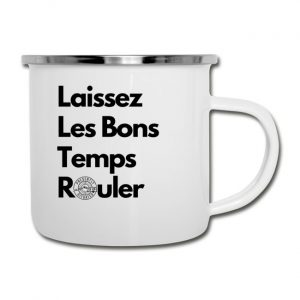 Laissez Les Bon Temps Rouler Camper Mug