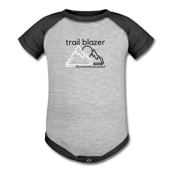 Trail blazer Baseball Baby Bodysuit